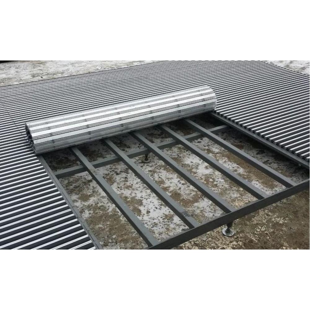 Чем эффективны алюминиевые решетки с грязезащитными вставками