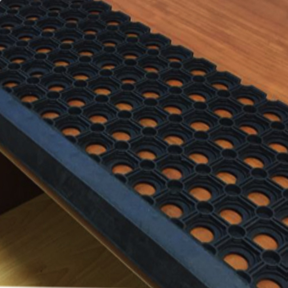 Резиновая накладная проступь 750x250 мм Домино-У
