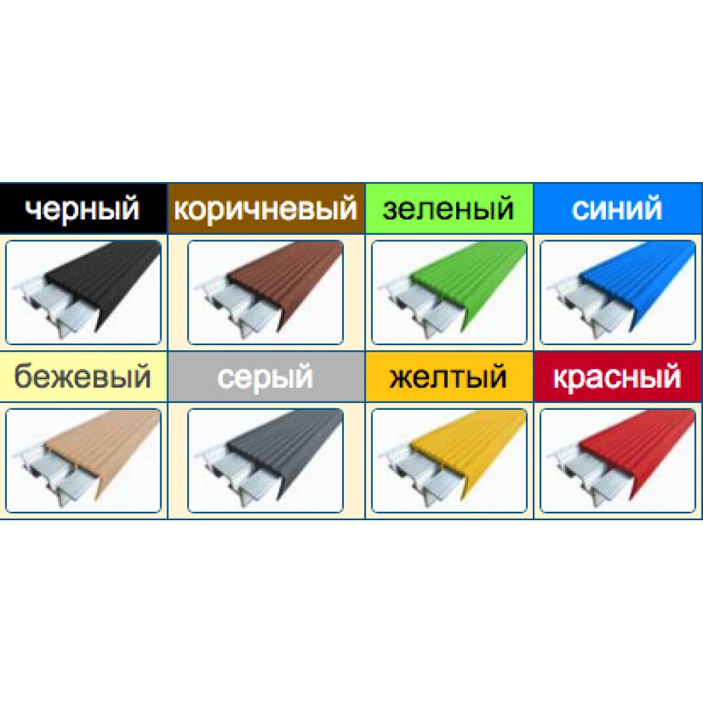 Алюминиевый профиль с двумя закладными элементами SafeStep