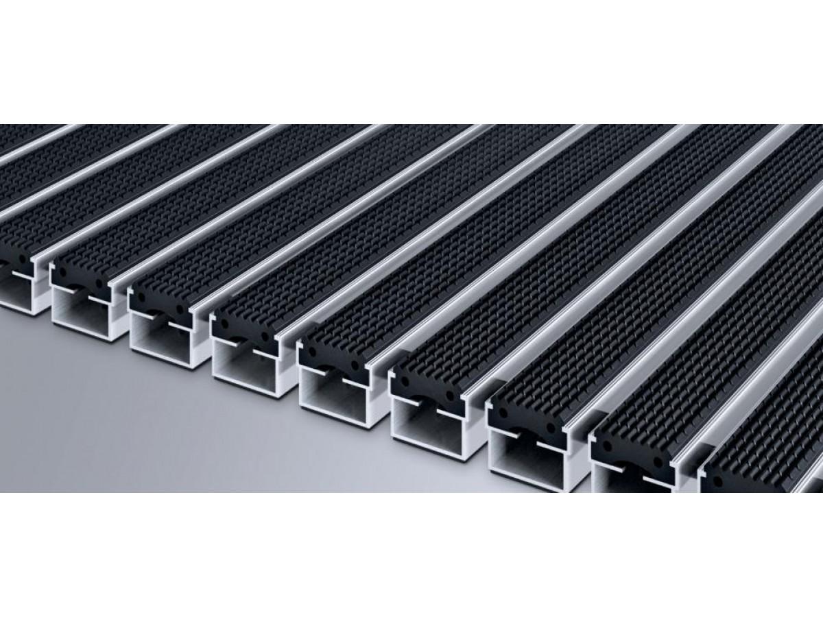 Где применяют алюминиевые грязезащитные решетки