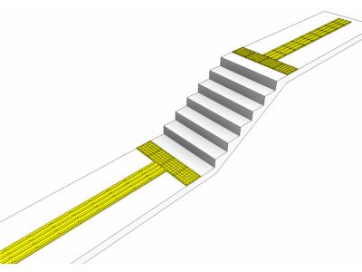 Как правильно укладывать тактильную ленту
