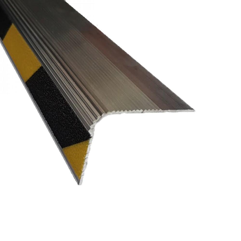 Алюминиевый угловой порог АУ-54х42