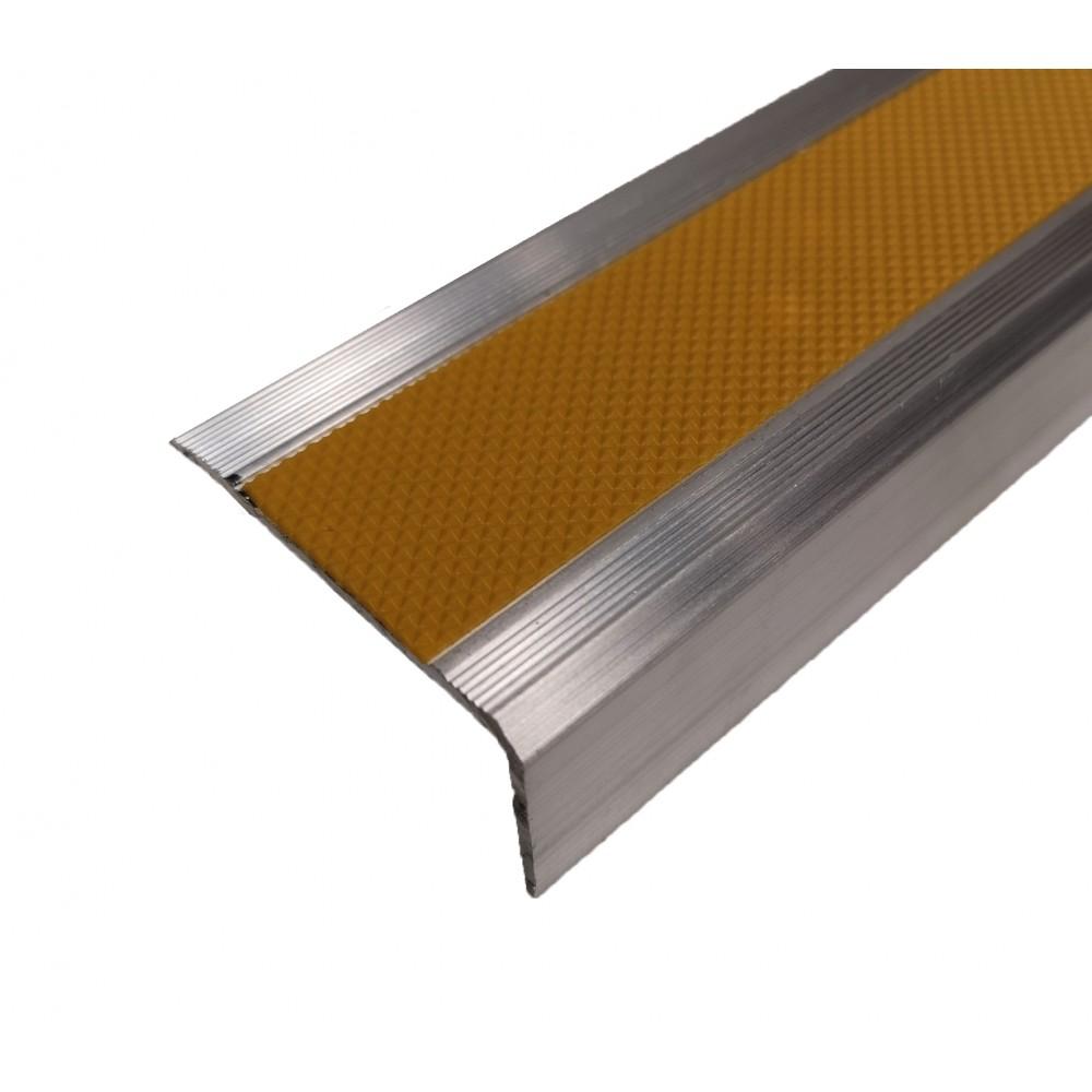 Алюминиевый угол 46х25 мм под ленту 25 мм