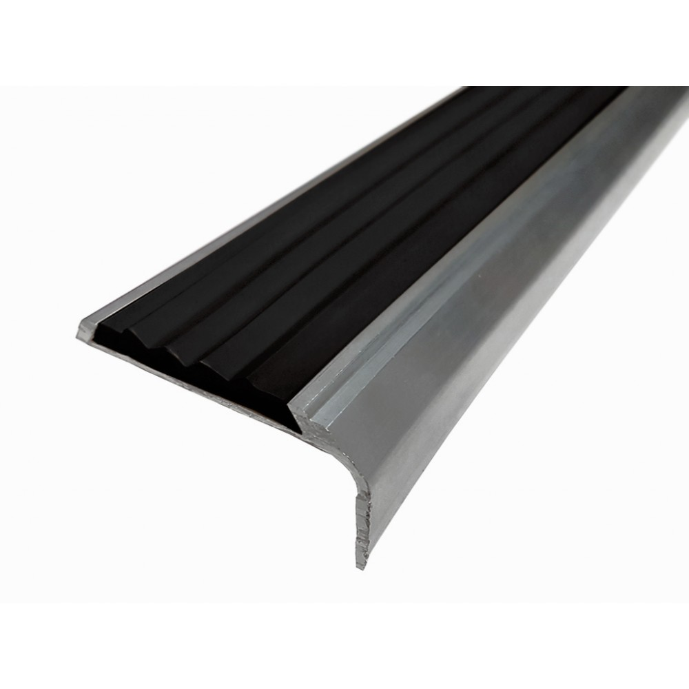 Противоскользящий алюминиевый антискользящий профиль-порог 42 мм/23 мм