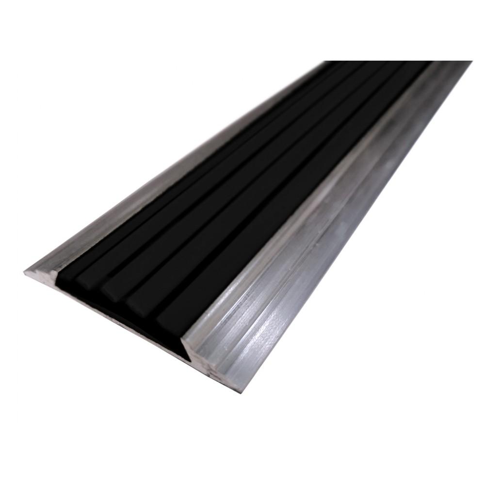 Противоскользящая алюминиевая накладная полоса 46 мм/5 мм