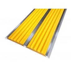 Антивандальная контрастная лента для маркировки плоскостей ступеней 70мм