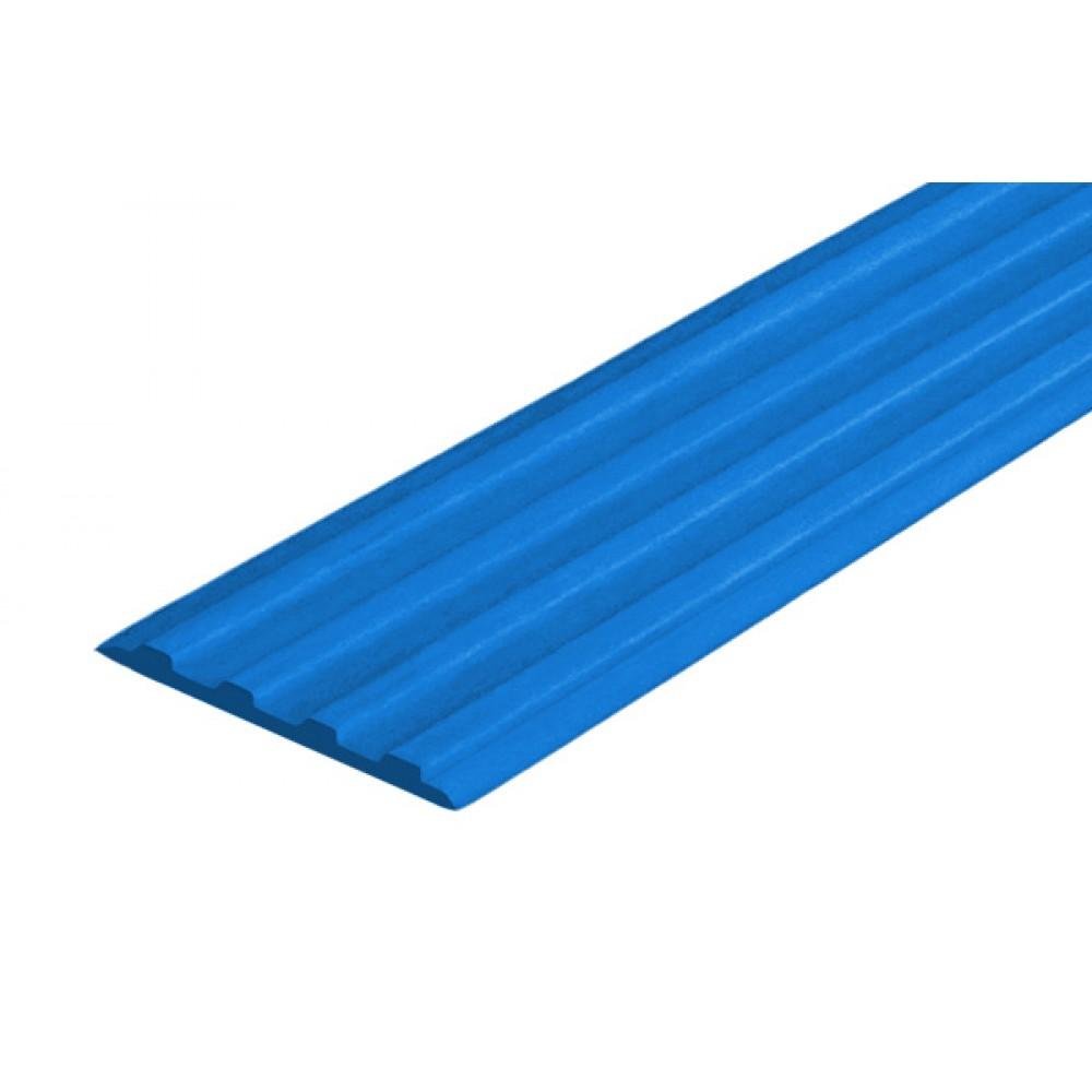 Самоклеящаяса резиновая тактильная противоскользящая полоса 29мм