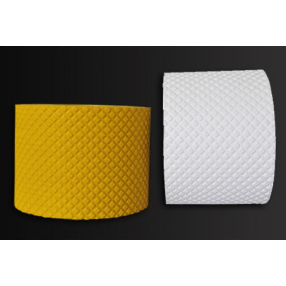 Полимерная светоотражающая противоскользящая лента для постоянной дорожной разметки