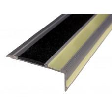Угловая накладка фотолюминесцентная противоскользящая ALSN-75L02-G700 120 см