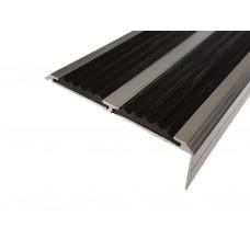 Алюминиевый антискользящий порог противоскольжения ЕвроСтандарт 68 мм/5,5 мм/22,5 мм